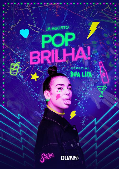 Pop Brilha! ✧ Uma Noite Fluorescente na Selva!