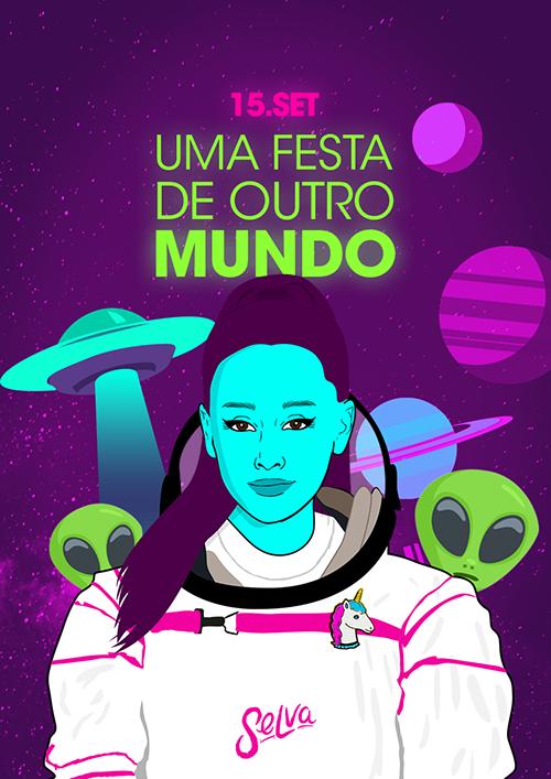 Uma Festa de Outro Mundo ✧ Aliens, Naves e uma Galáxia Alcoólica
