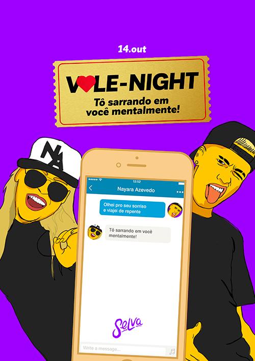Vale-Night ♡ Sarrando em Você Mentalmente ♡ (14.10) na Selva ♡