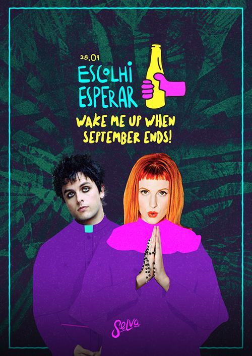 Escolhi Esperar ✞ When September Ends ✞ ALL VIP na Selva (28.09)