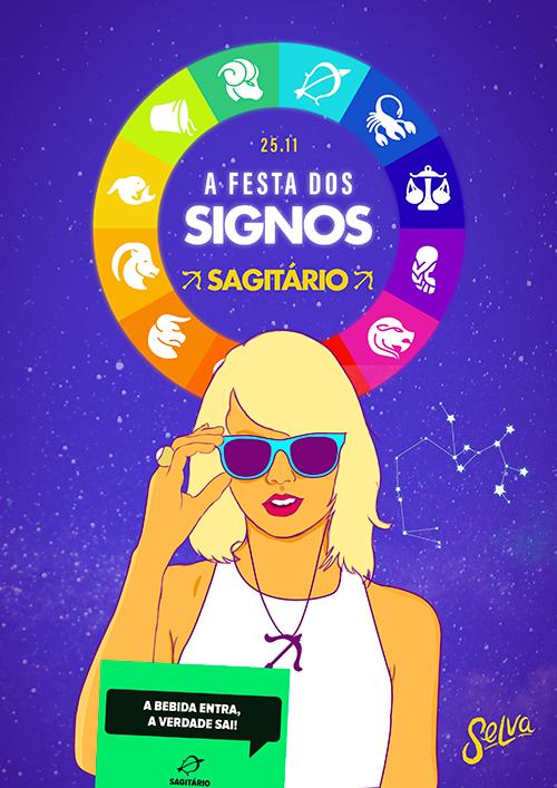 A Festa dos Signos! ☾ Especial: Sagitário na Selva! ☾