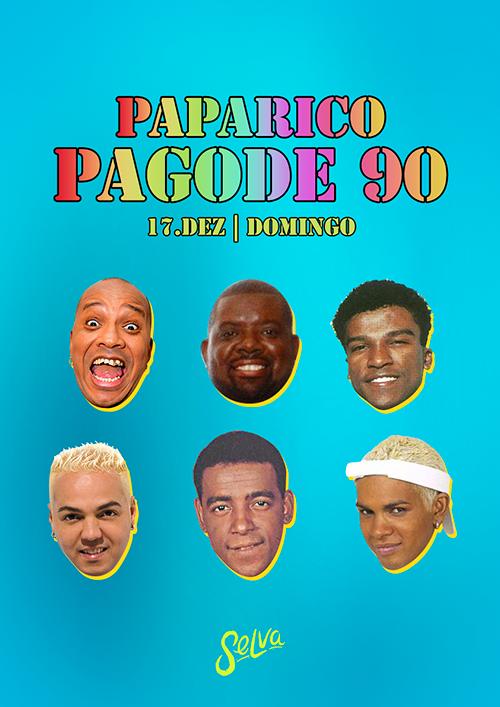 Paparico (Pagode 90) ✿ Entrada Grátis ✿ Domingo a Tarde na Selva