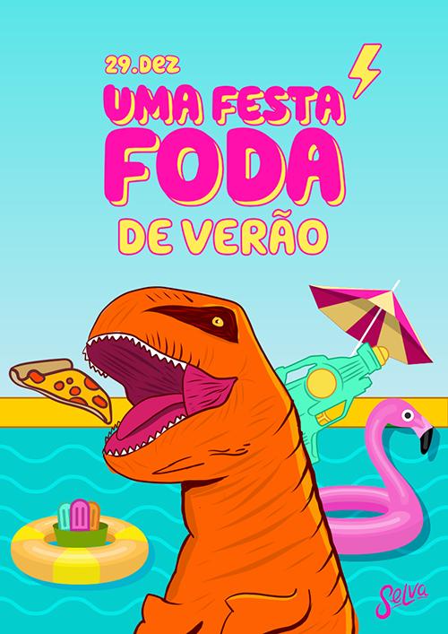 Uma Festa Fhoda de Verão ✧ As Férias mais insanas da sua vida!
