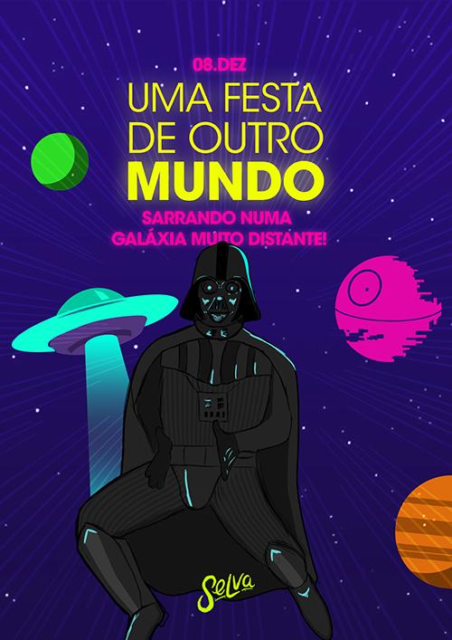 Uma Festa de Outro Mundo ✧ Sarrando Numa Galáxia Muito Distante!