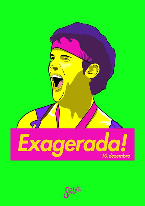 Exagerada! ♡ Entrada Grátis ♡ Um Domingo de Pop-Rock Brasil!