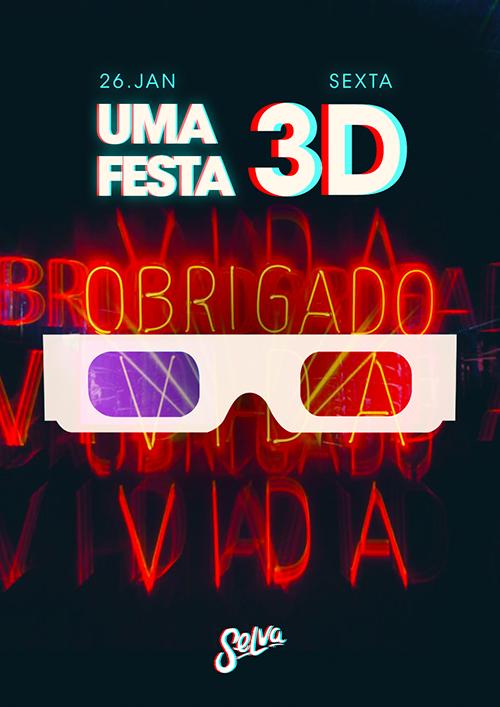 Uma Festa 3D ✦ Explore a Selva com Óculos de Difração 100% 3D!