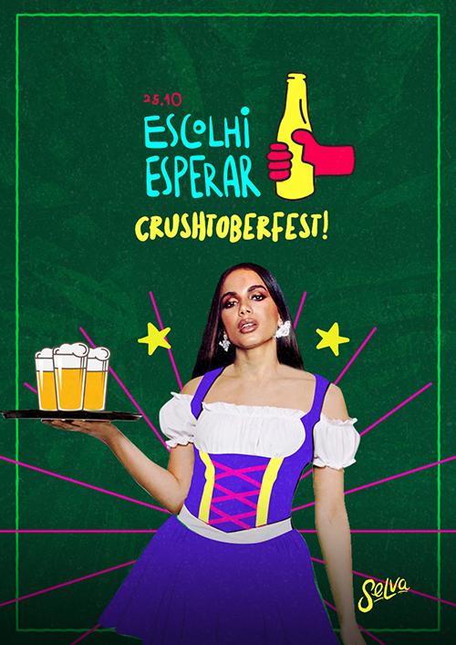 Escolhi Esperar ✞ Crushtober Fest ✞ VIP até a 00h (25.10)
