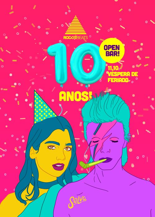 Rocknbeats – 10 Anos ▲ Véspera de Feriado ▲ Open Bar! ▲