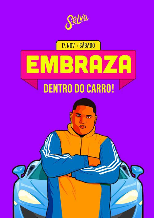 Embraza ✦ Senta pra Valer a Pena ✦ Funk & Pop ✦ Sábado (17.11)