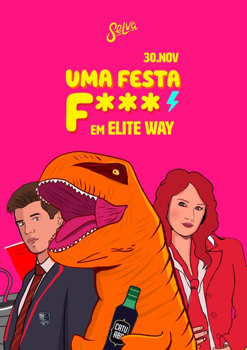 Uma Festa Fhoda em Elite Way ✧ 100 Primeiros VIP na Selva!
