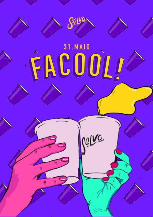 Facool ♕ A Festa Universitária da Selva ♕ Estudante VIP até 00hr