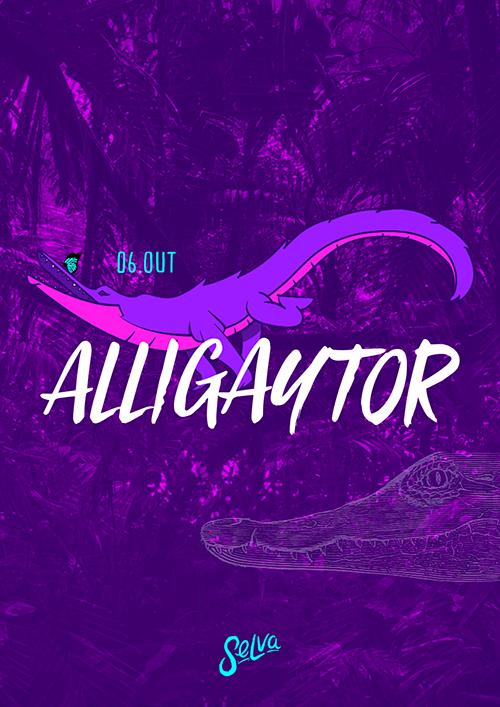 AlliGaytor ✭ A Festa LGBT da Selva ✭ Pop, Funk & Remix ✭