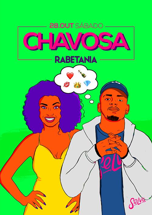 Chavosa ♕ Rabetania ♕ Funk & Pop ♕ Sábado (28.10)