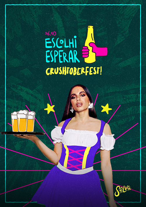 Escolhi Esperar ✞ CrushTober Fest ✞ All Vip na Selva! (26.10)
