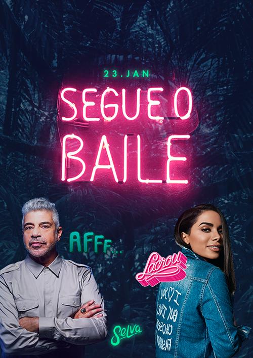 Segue o Baile! ♕ Pop & Funk na Selva! ♕ Entrada Vip (Até 01h)