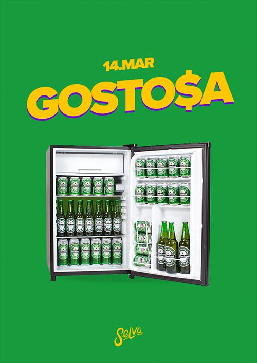Gosto$a ♕ Pop Brasil & Funk na Selva! ♕ Entrada Vip (Até 00h)