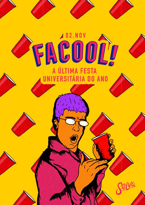 Facool ♕ A Ultima Festa Do Ano ♕ (Estudante Vip até a 00:00)