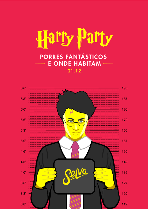 Harry Party ✧ Porres Fantásticos e Onde Habitam ✧ Sexta (21.12)