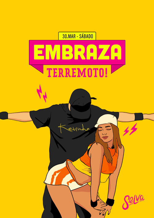 Embraza ✦ Terremoto ✦ Funk & Pop ✦ Sábado (30.03)