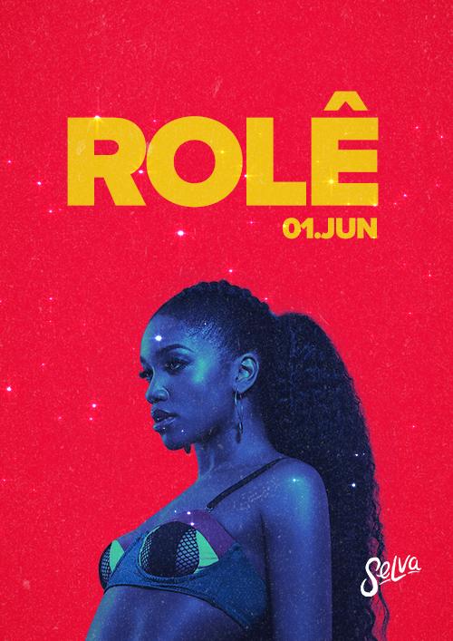 Rolê ♕ A Festa Pop & Funk da Selva! ♕ Sábado (01.06) VIP até 00h!