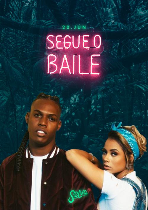 Segue o Baile de Feriado ♕ Pop & Funk na Selva ♕ VIP Até 00h 20/06
