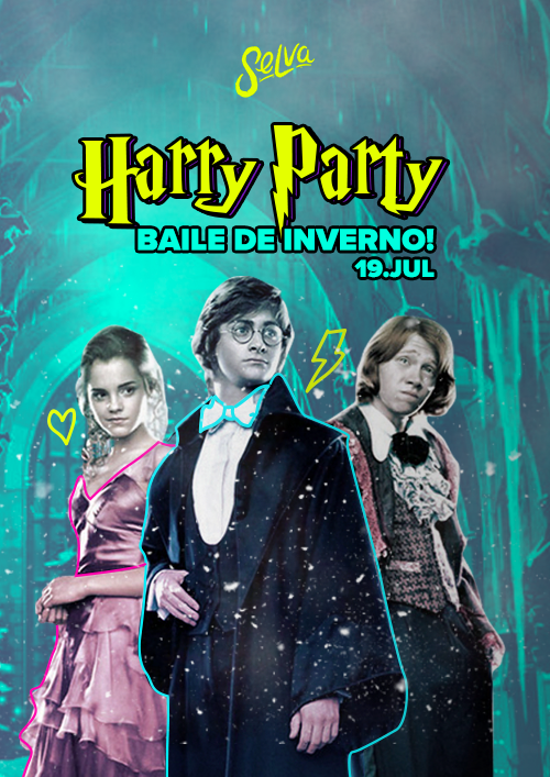 Harry Party ✧ O Baile de Inverno ✧ Sexta 19.07