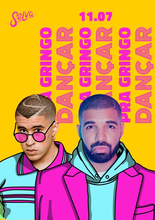 Pra Gringo Dançar ★ Reggaeton e Funk na Selva ★ VIP Até 00h