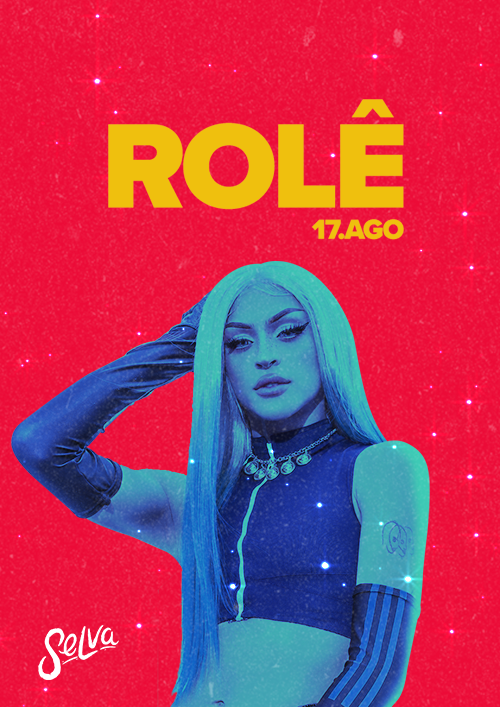 Rolê ♕ A Festa Pop & Funk da Selva! ♕ Sábado 17.08