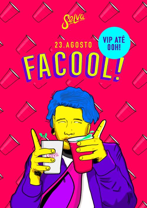 Facool ♕ A Festa Universitária da Selva ♕ Estudante VIP até 00hr 23/08
