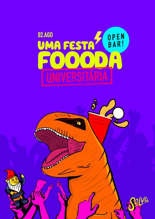 Uma Festa Fhoda Universitária ✧ Open Bar com Touro Mecanico ✧