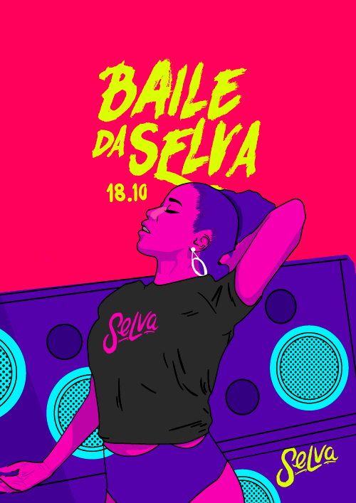Baile da Selva ✧ O Fluxo do Funk na Sexta Feira ✧ (18.10) VIP até 00h
