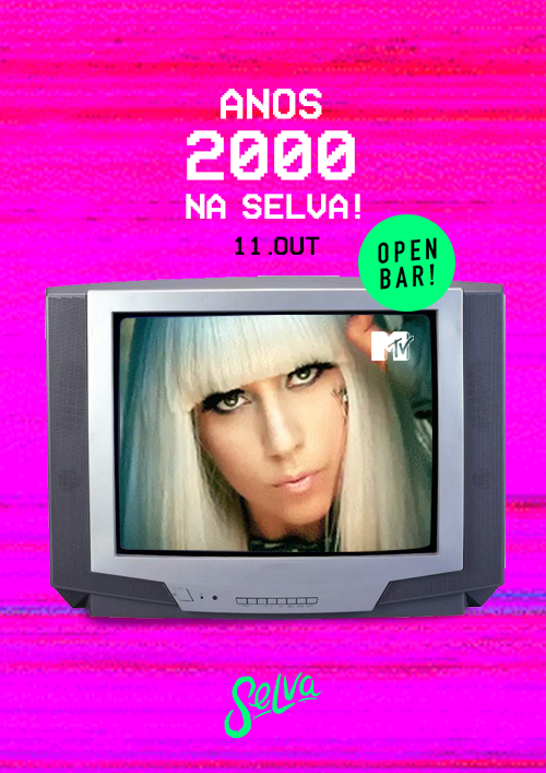 Anos 2000 Open Bar na Selva ★ Pop, Rock, Black, Emo & Funk!