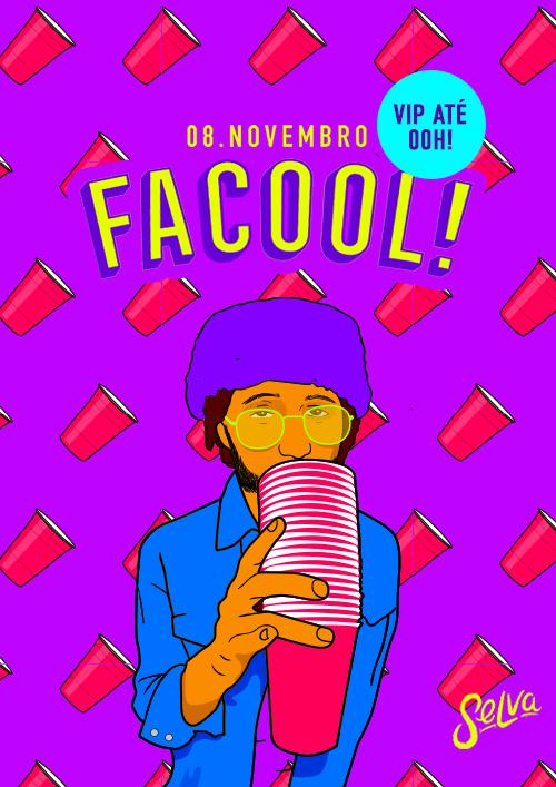 Facool ♕ A Festa Universitária da Selva ♕ Estudante VIP até 00h!