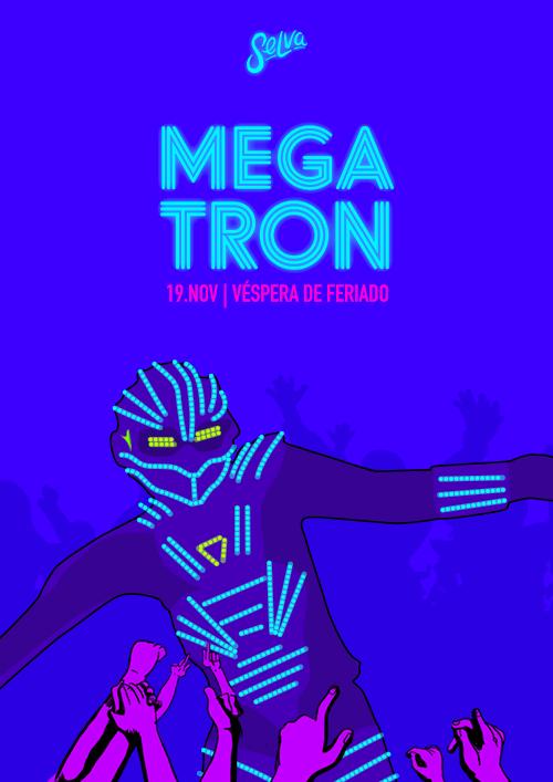 Megatron Na Véspera de Feriado da Selva! ✦ 19.11