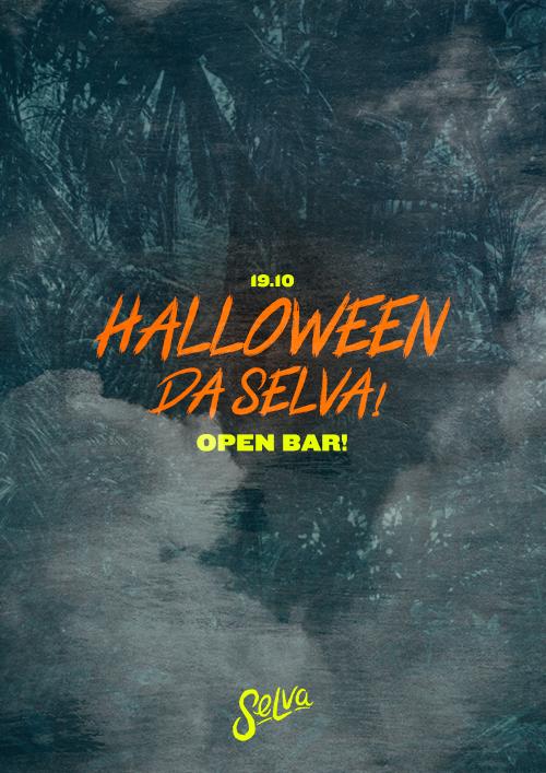 Halloween da Selva! ✟ Open Bar à Fantasia com Prêmios! ✟