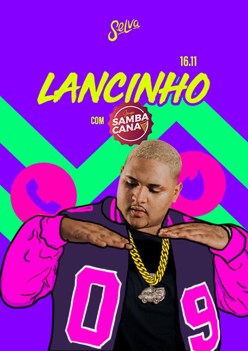 Lancinho ✰ Funk & Pagode na Selva ✰ Show Ao Vivo Grupo SambaCana