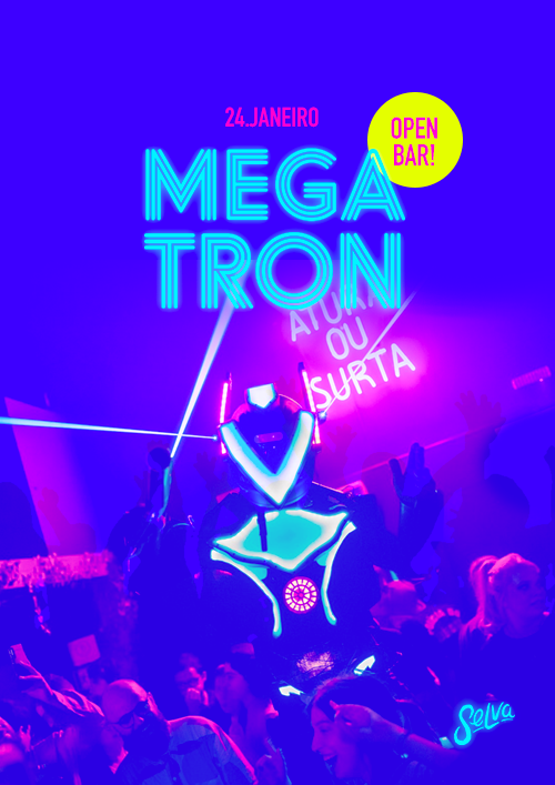 Megatron, Open Bar na Selva ✦ Pop & Funk ✦ 24.01