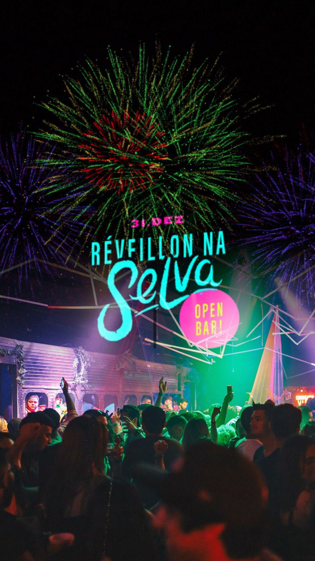 Réveillon na Selva ✭ Open Bar ✭ Mais de 20 atrações