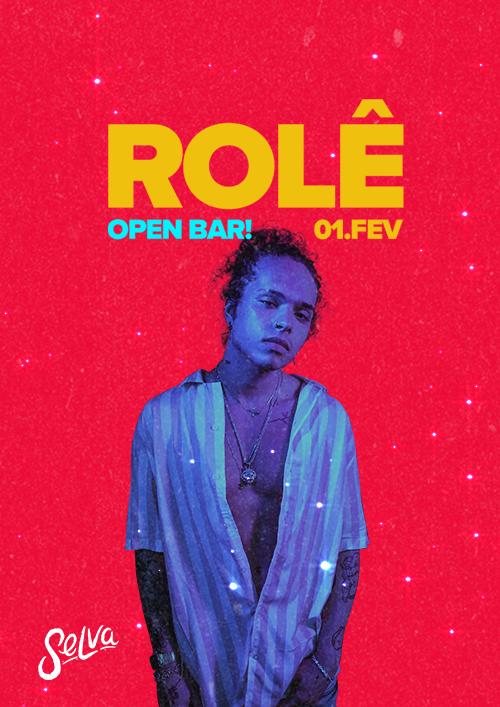Rolê ♕ Open Bar ♕ A Festa Pop & Funk da Selva! ♕ (Sáb | 01.02)
