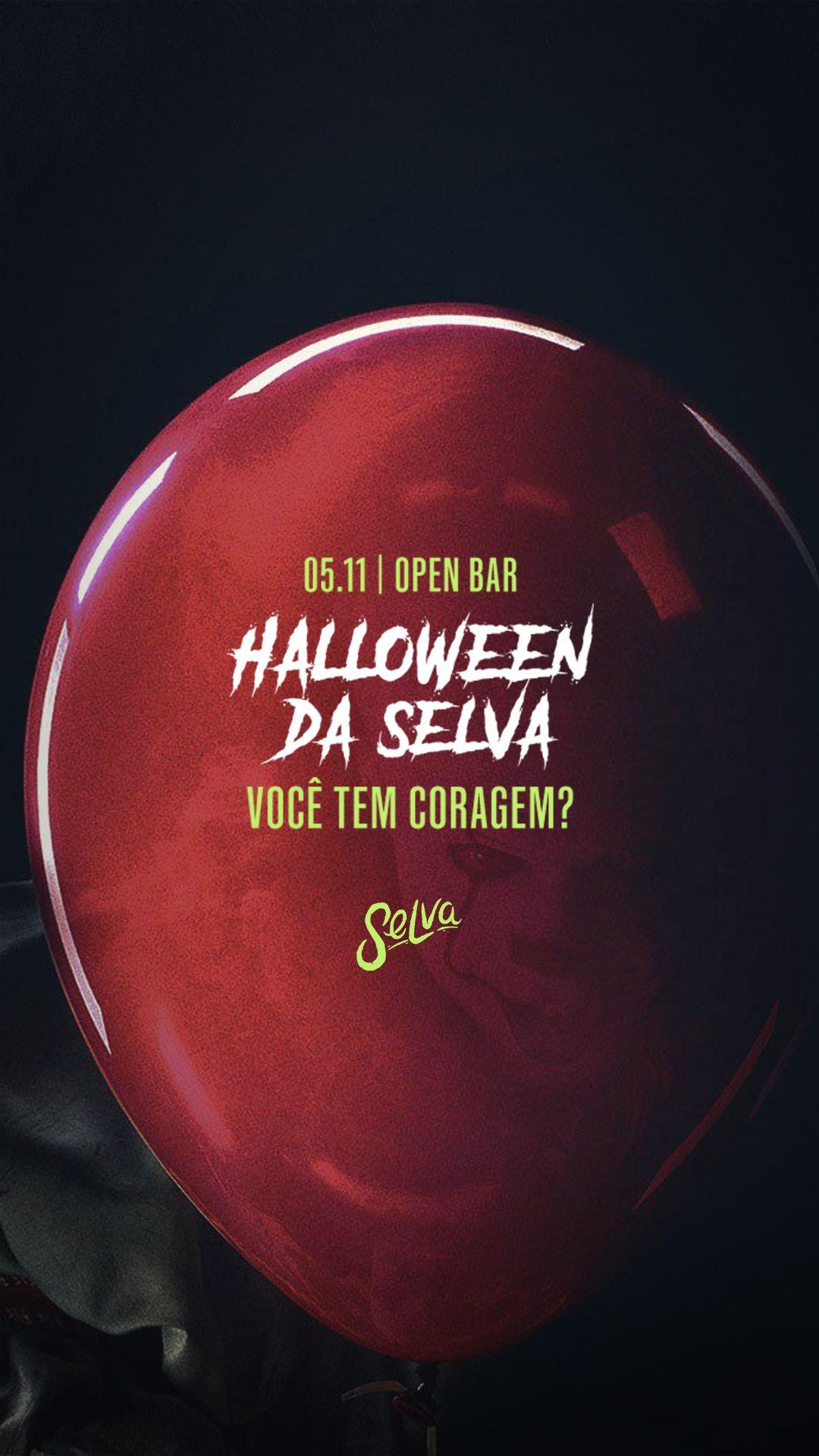 Halloween na Selva! | (Open Bar)