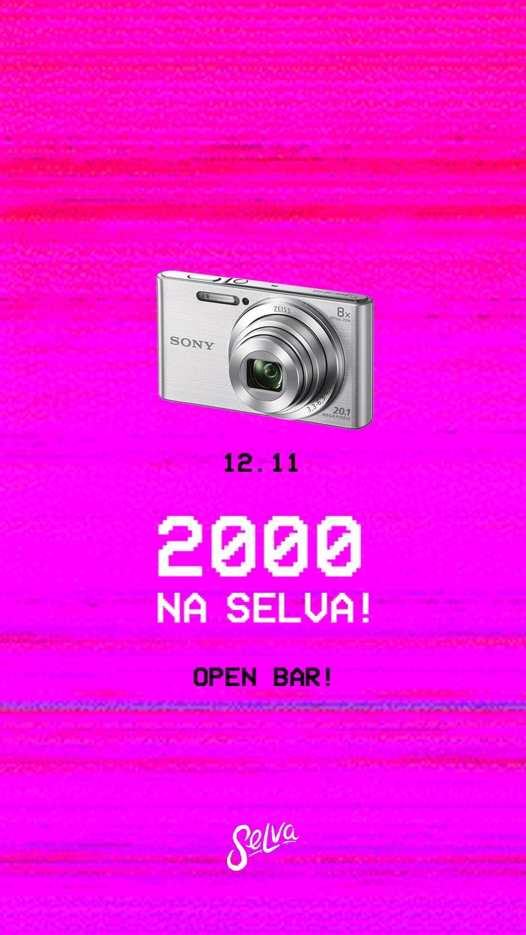 2000 na Selva! ★ (Open Bar) ★ Pop, Rock, Black, Emo & Funk!   Sexta 12.11
